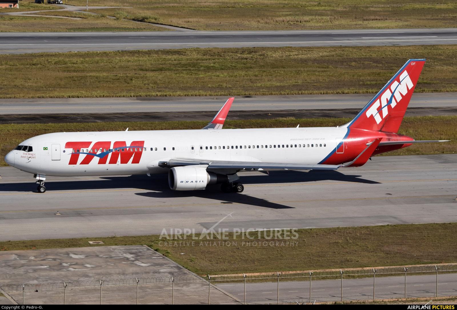 TAM PT-MOF aircraft at São Paulo - Guarulhos