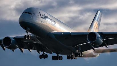 #1 Lufthansa Airbus A380 D-AIML taken by Piotr Knurowski