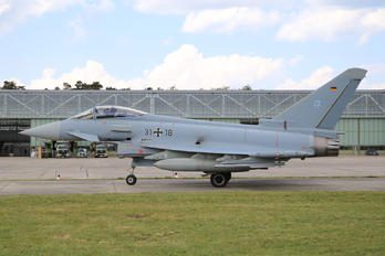31+18 - Germany - Air Force Eurofighter Typhoon S