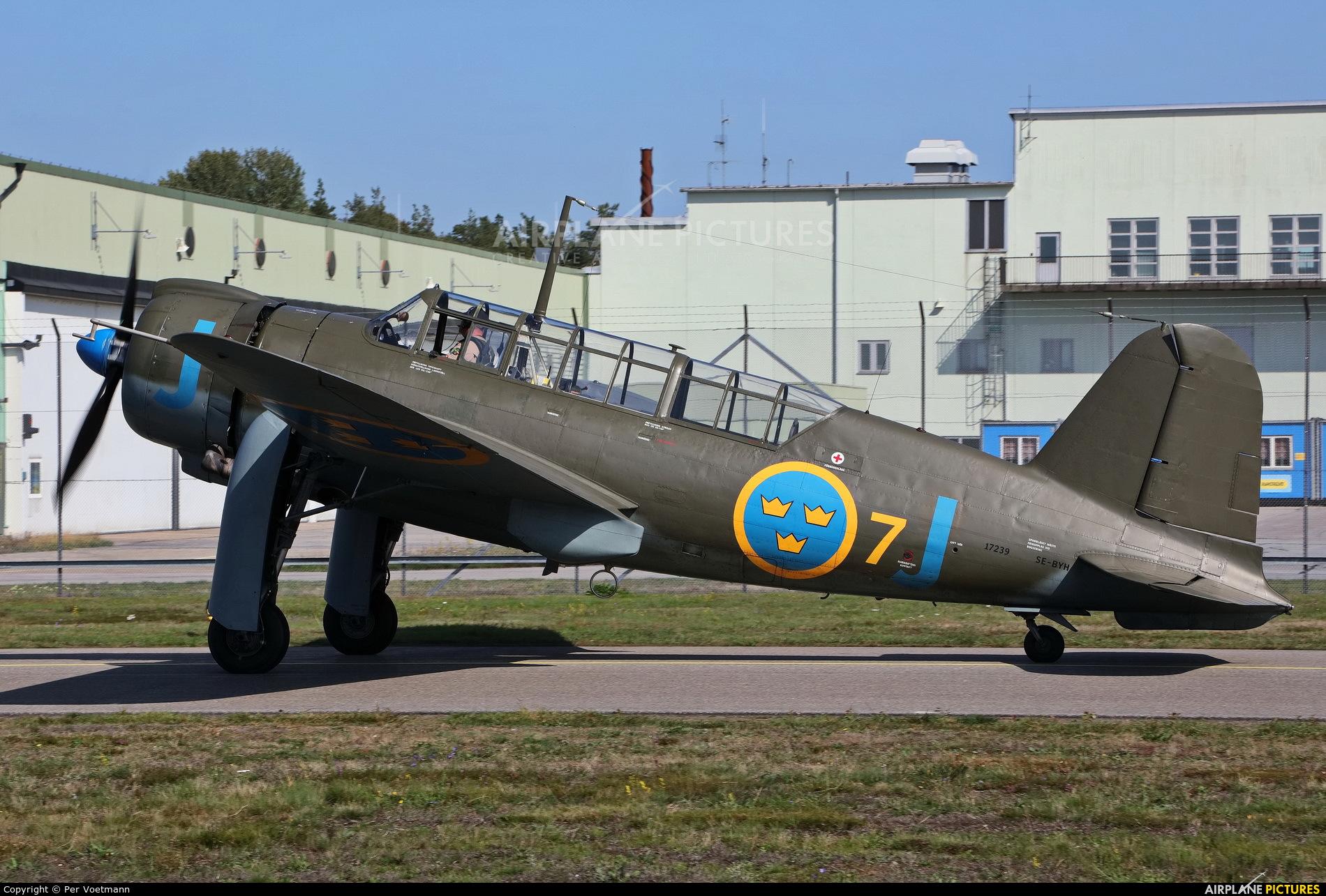 Swedish Air Force Historic Flight SE-BYH aircraft at Ronneby