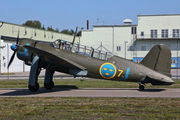 SE-BYH - Swedish Air Force Historic Flight SAAB B 17A aircraft