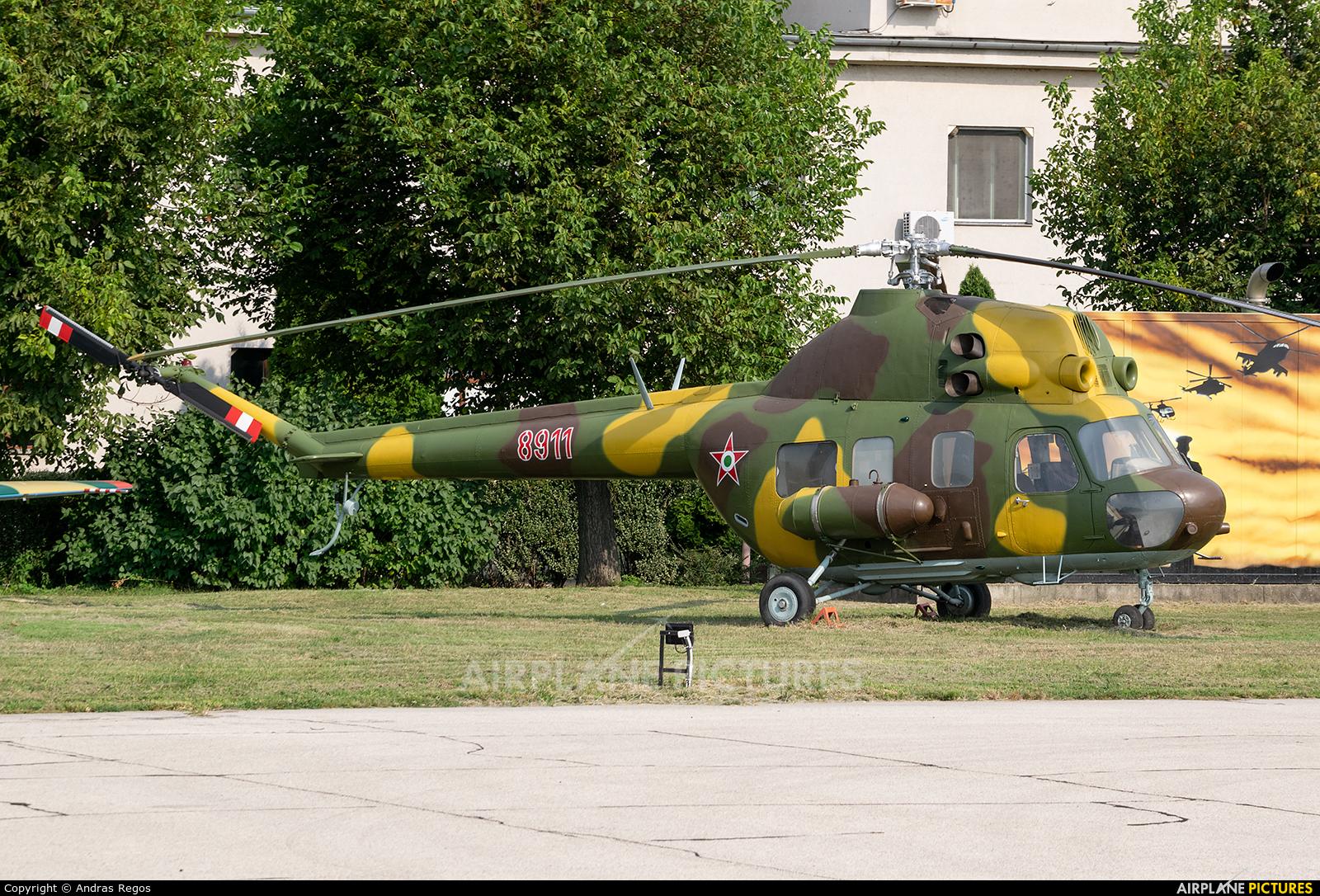 Hungary - Air Force 8911 aircraft at Szolnok