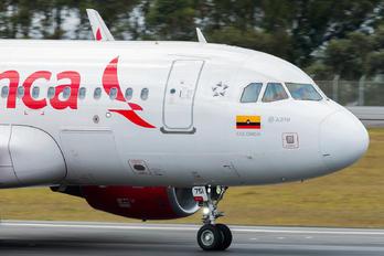 N751AV - Avianca Airbus A319