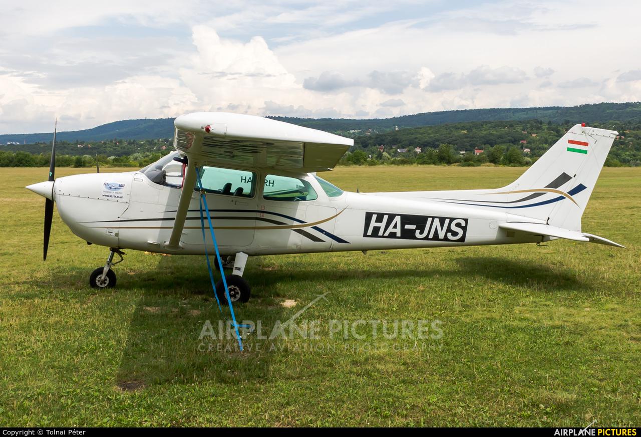 Private HA-JNS aircraft at Farkashegy