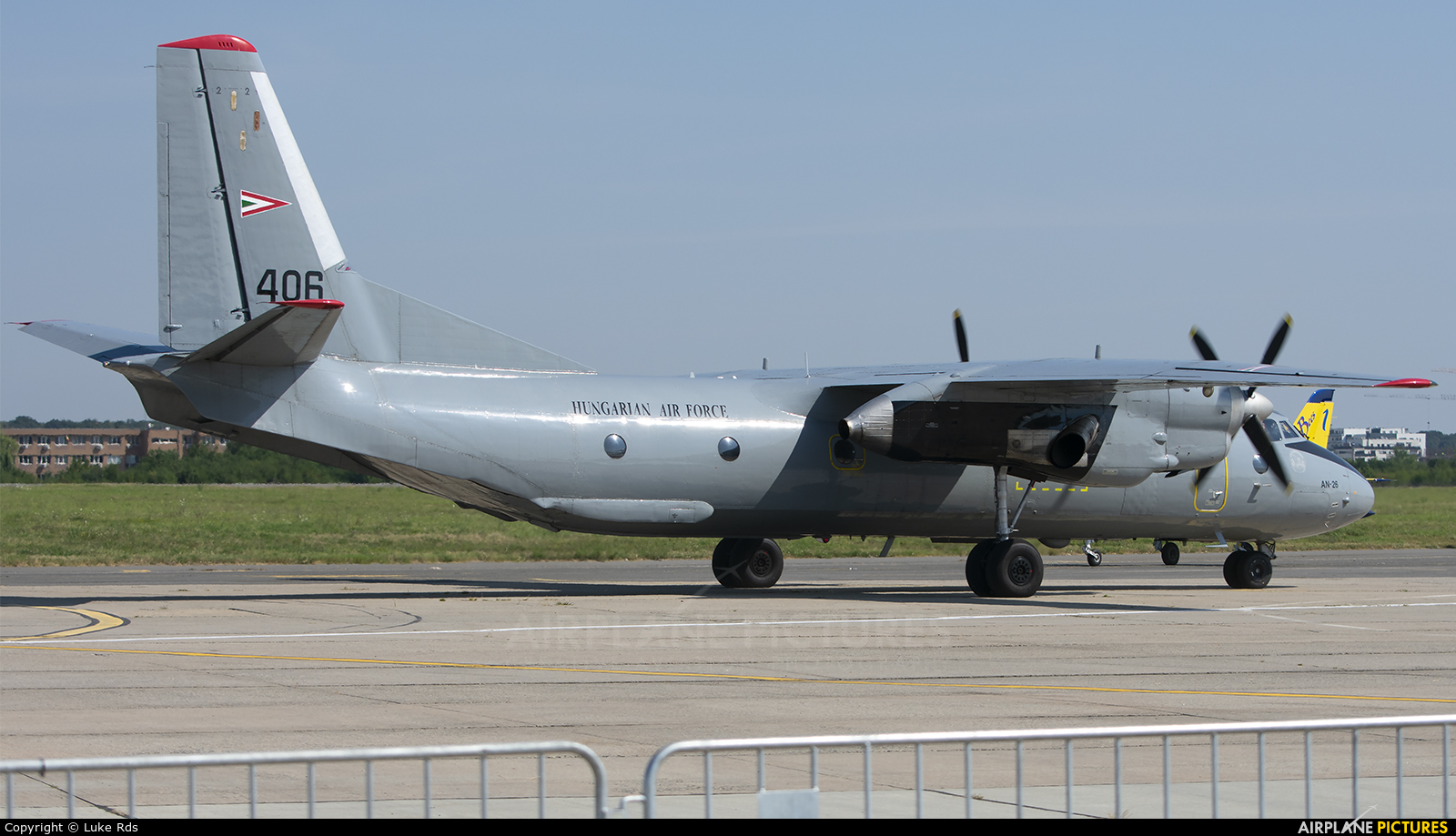 Hungary - Air Force 406 aircraft at Bucharest - Aurel Vlaicu Intl