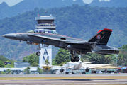 M45-01 - Malaysia - Air Force McDonnell Douglas F-18D Hornet aircraft