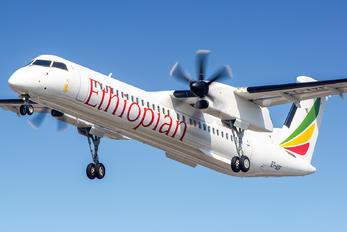 ET-AXF - Ethiopian Airlines de Havilland Canada DHC-8-400Q / Bombardier Q400