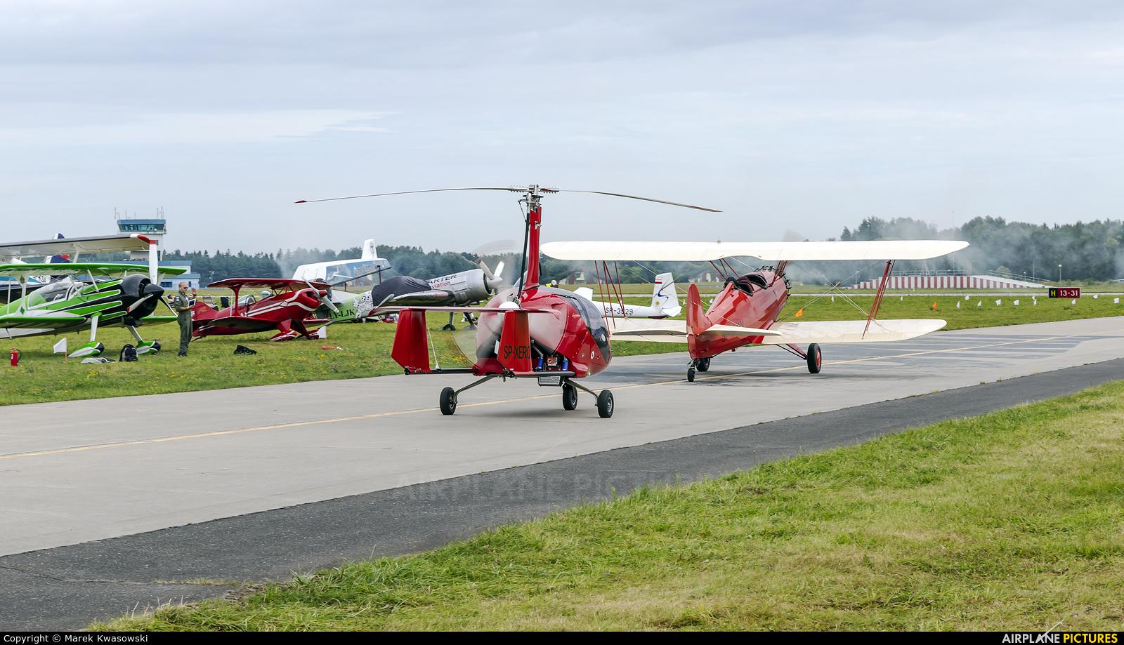 Private SP-XERO aircraft at Gdynia- Babie Doły (Oksywie)