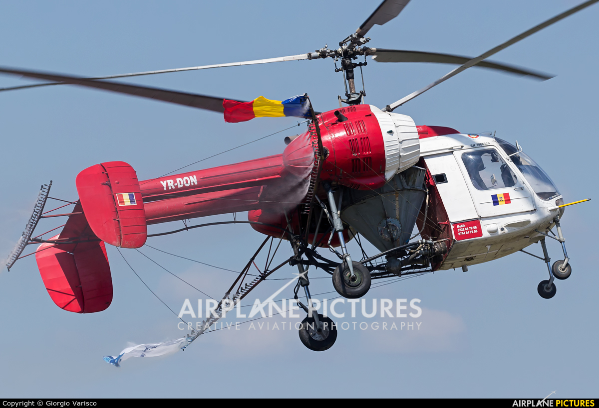Private YR-DON aircraft at Bucharest - Aurel Vlaicu Intl