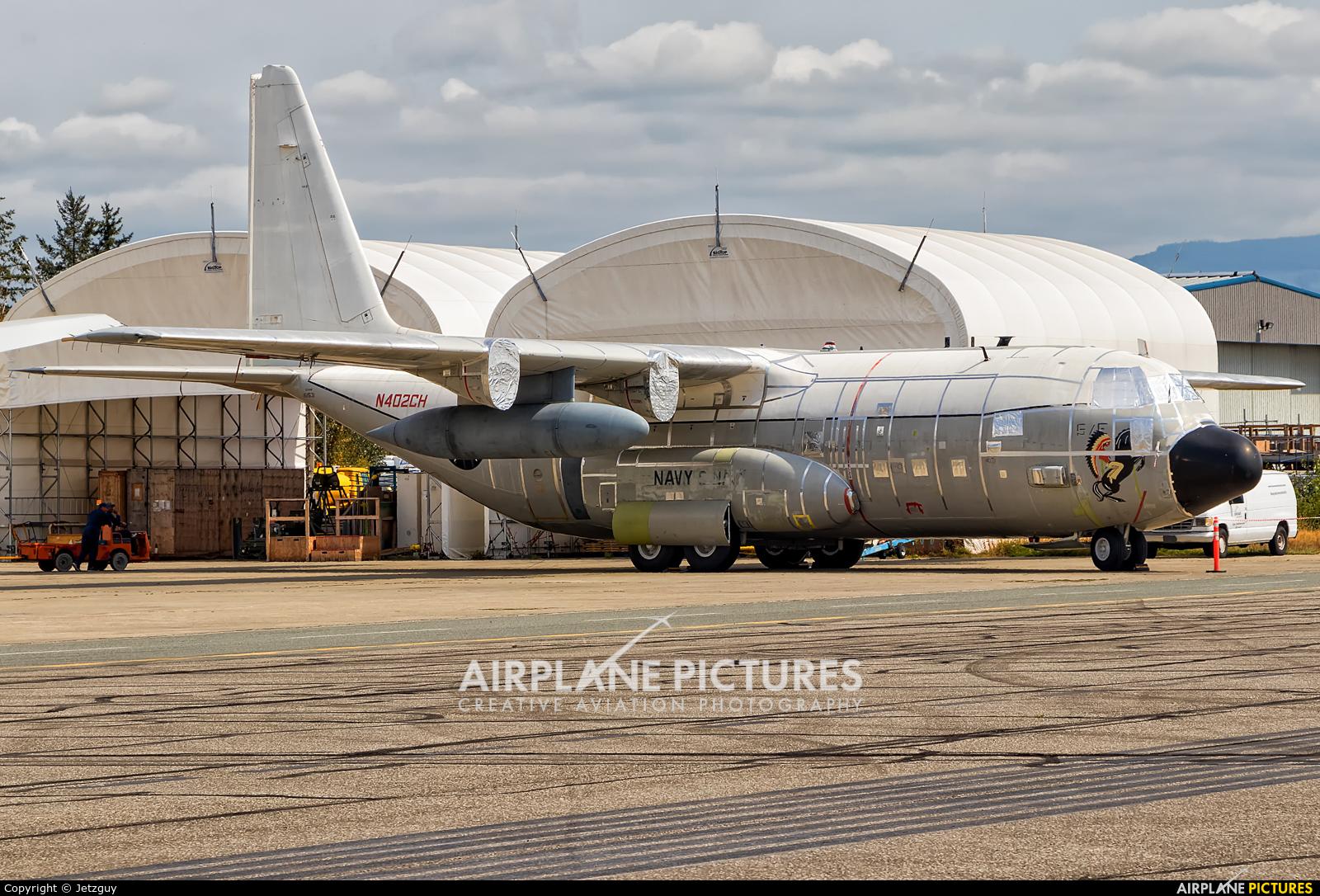 Private N402CH aircraft at Abbotsford, BC