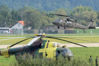 7448 - Slovakia -  Air Force Sikorsky H-60L Black hawk