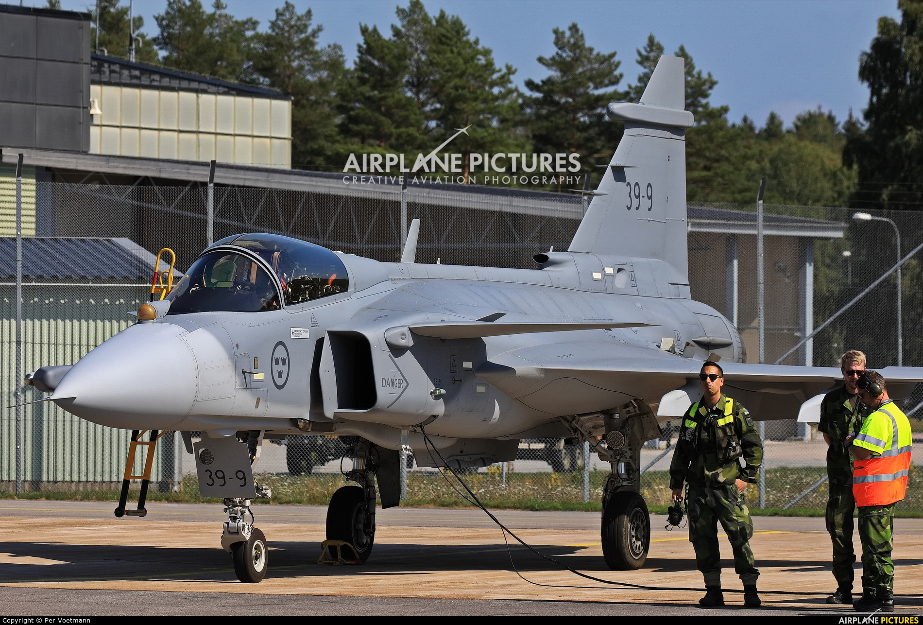 Sweden - Air Force 39-9 aircraft at Ronneby