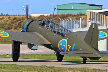 SE-BYH - Swedish Air Force Historic Flight SAAB B 17A