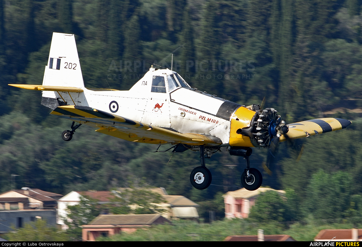 Greece - Hellenic Air Force 202 aircraft at Corfu - Ioannis Kapodistrias