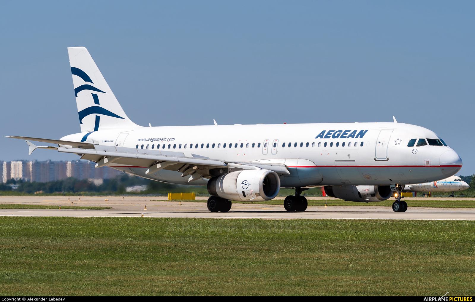 Aegean Airlines SX-DGC aircraft at Krasnodar