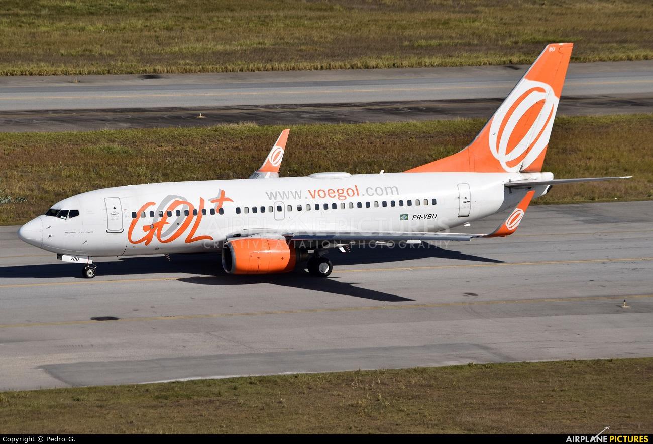 GOL Transportes Aéreos  PR-VBU aircraft at São Paulo - Guarulhos