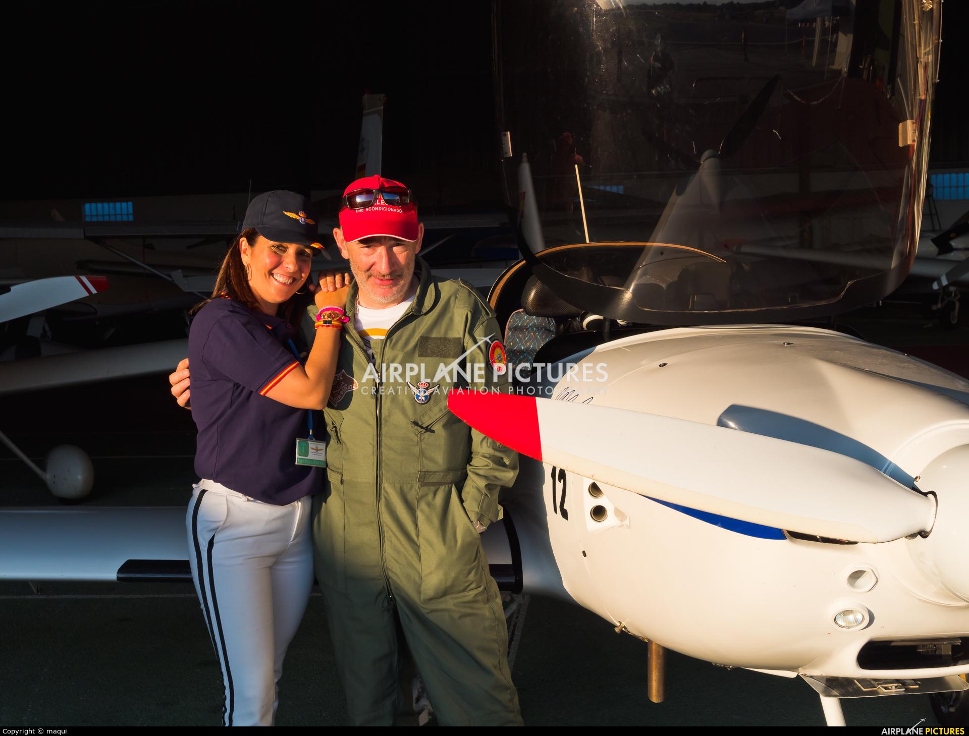 - Aviation Glamour EC-ZMM aircraft at Lugo - Rozas