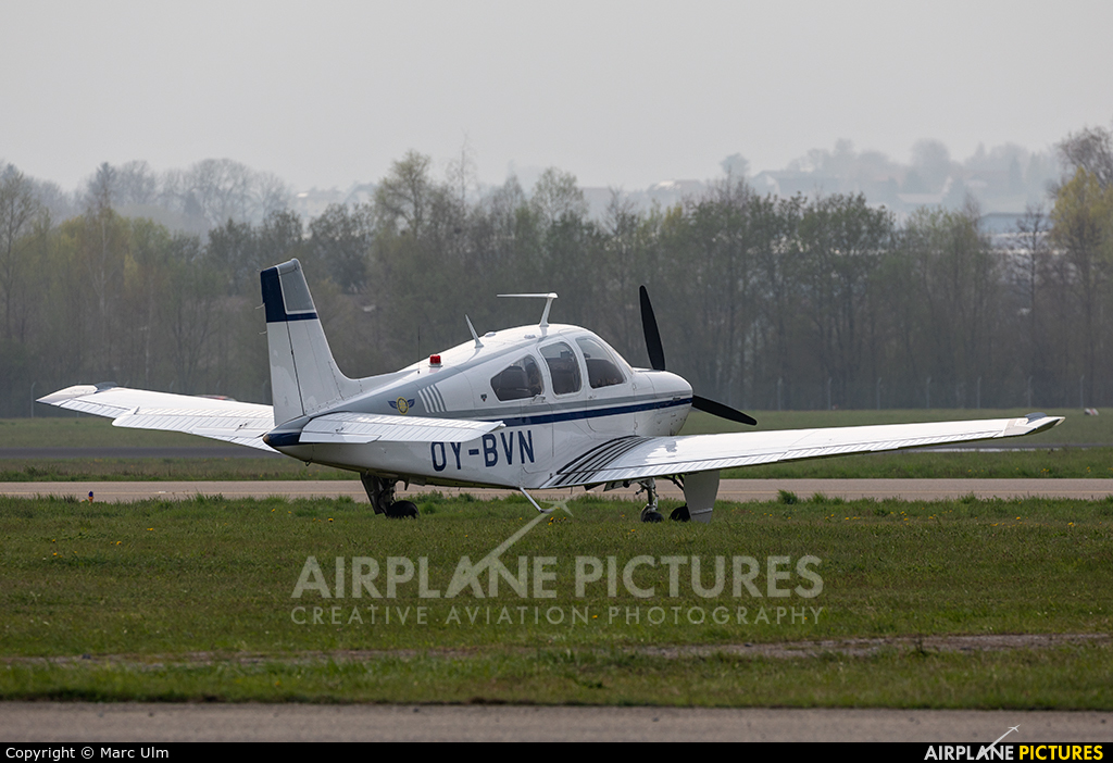 Private OY-BVN aircraft at Friedrichshafen