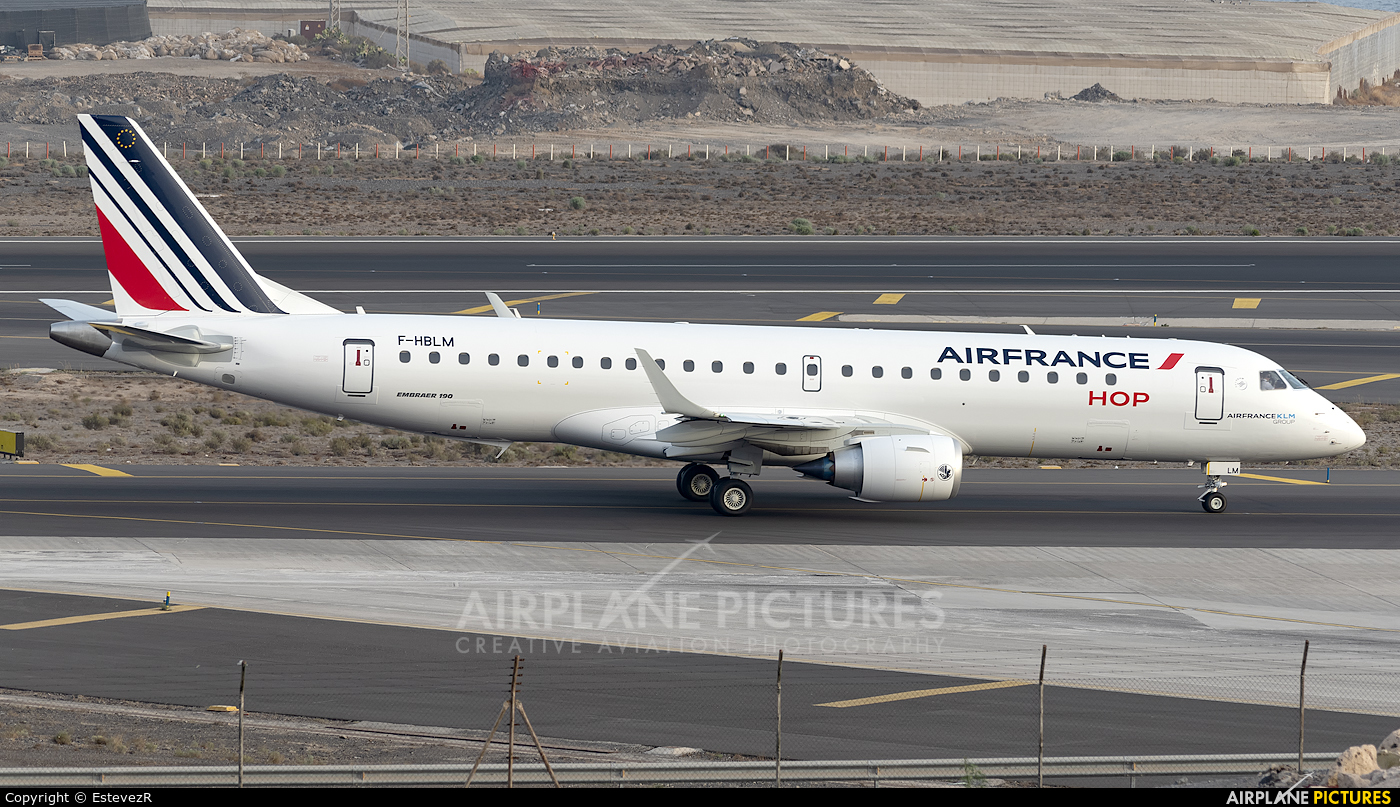 Air France - Hop! F-HBLM aircraft at Tenerife Sur - Reina Sofia