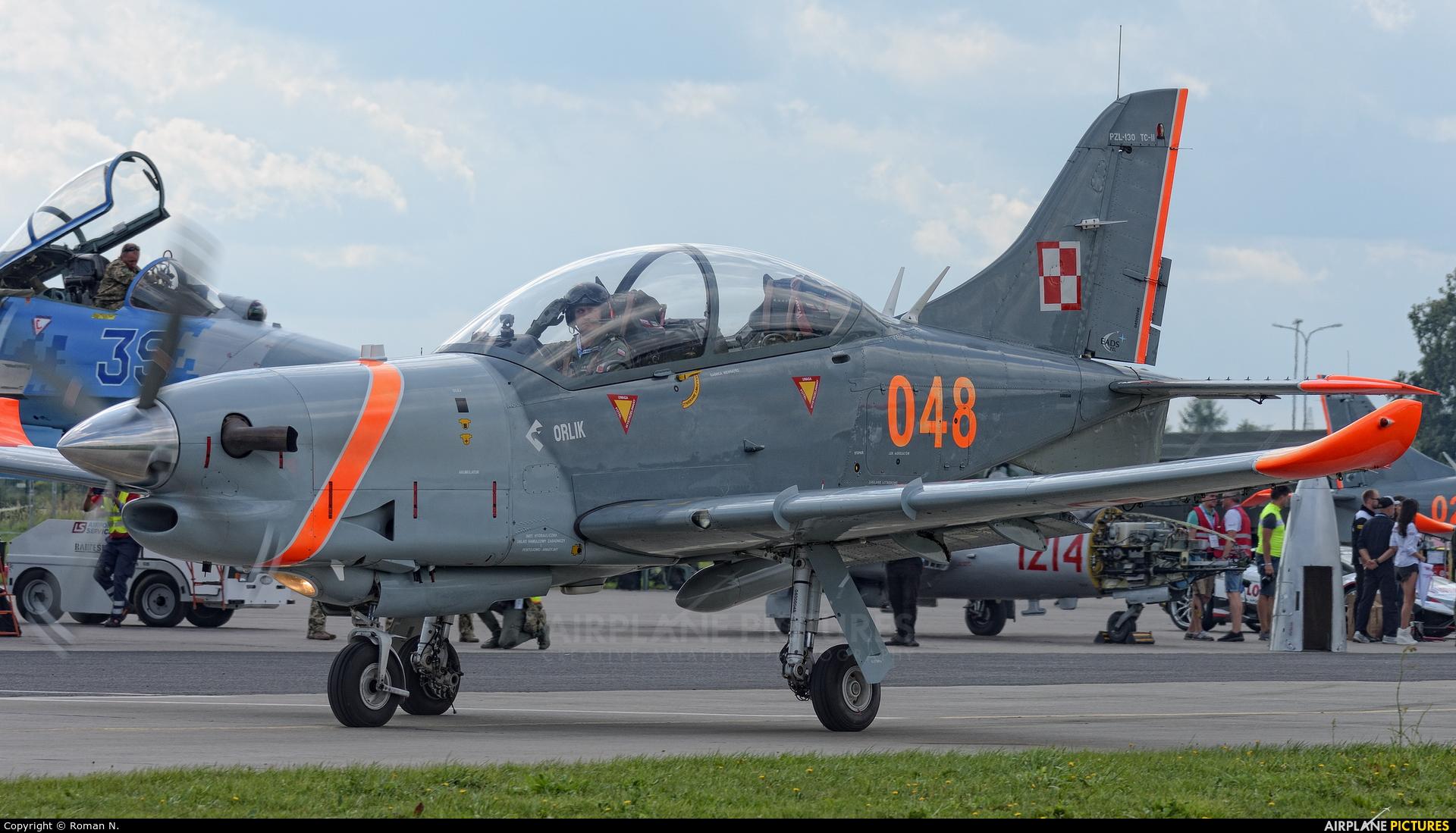 Poland - Air Force 048 aircraft at Gdynia- Babie Doły (Oksywie)