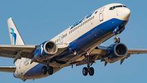 YR-BMI - Blue Air Boeing 737-800 aircraft