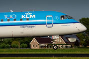 PH-EXC - KLM Cityhopper Embraer ERJ-190 (190-100) aircraft