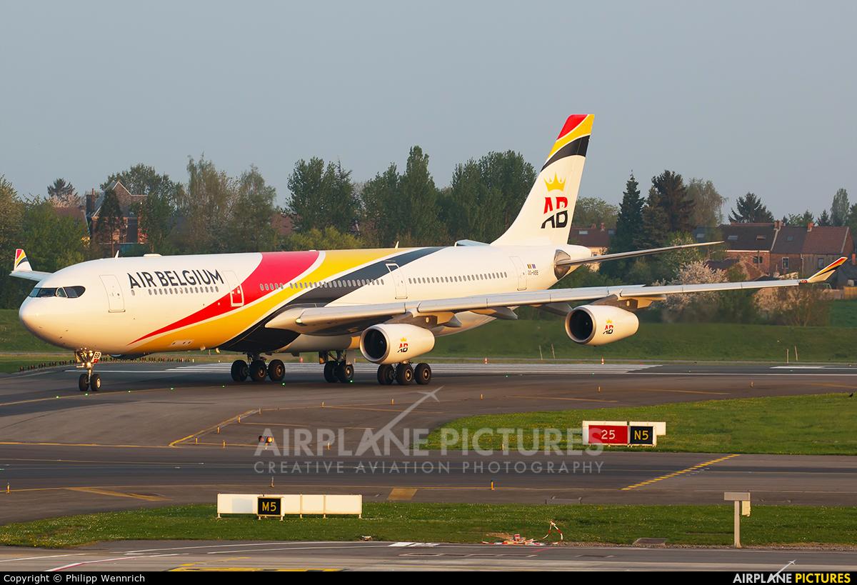 Air Belgium OO-ABB aircraft at Charleroi