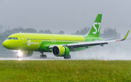 VQ-BRI - S7 Airlines Airbus A320 NEO aircraft