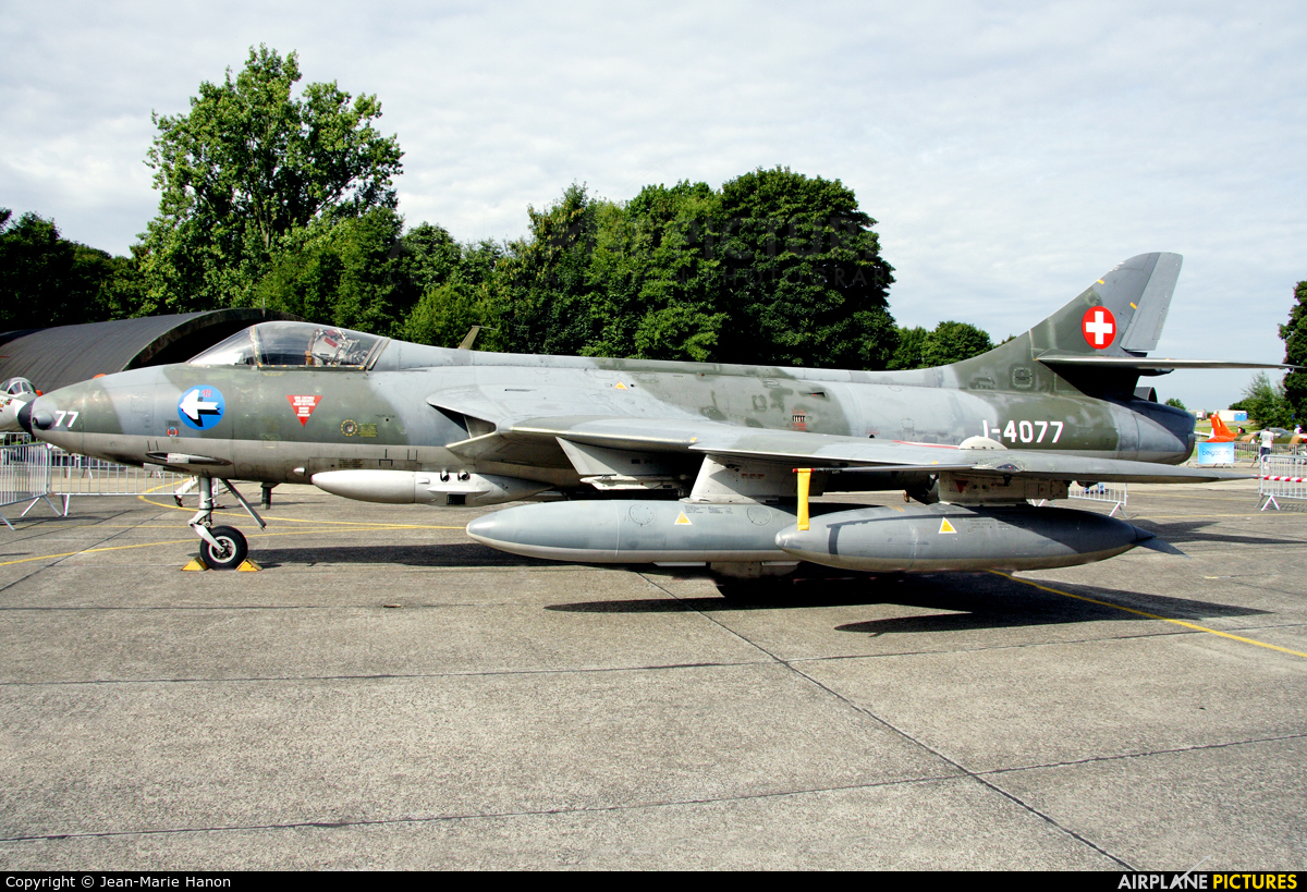 Switzerland - Air Force J-4077 aircraft at Beauvechain