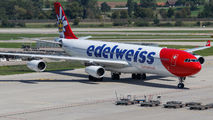 HB-JMD - Edelweiss Airbus A340-300 aircraft