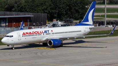TC-JFJ - AnadoluJet Boeing 737-800