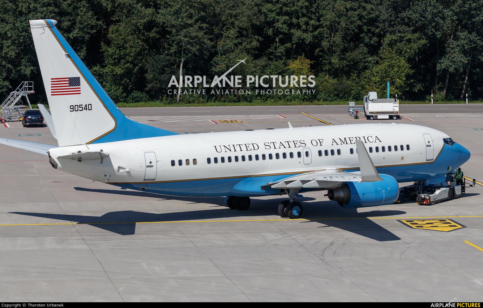 USA - Air Force 90540 aircraft at Zurich