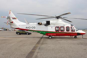 A4O-CG - Royal Oman Police Agusta Westland AW139