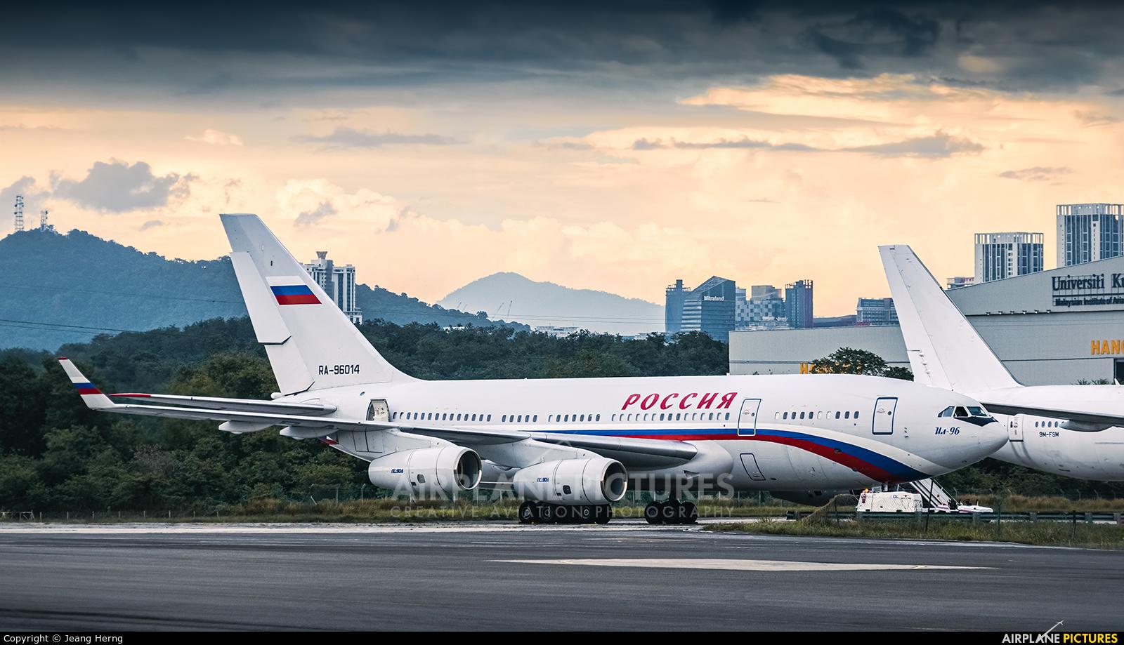 Rossiya Special Flight Detachment RA-96014 aircraft at Subang - Sultan Abdul Aziz Shah