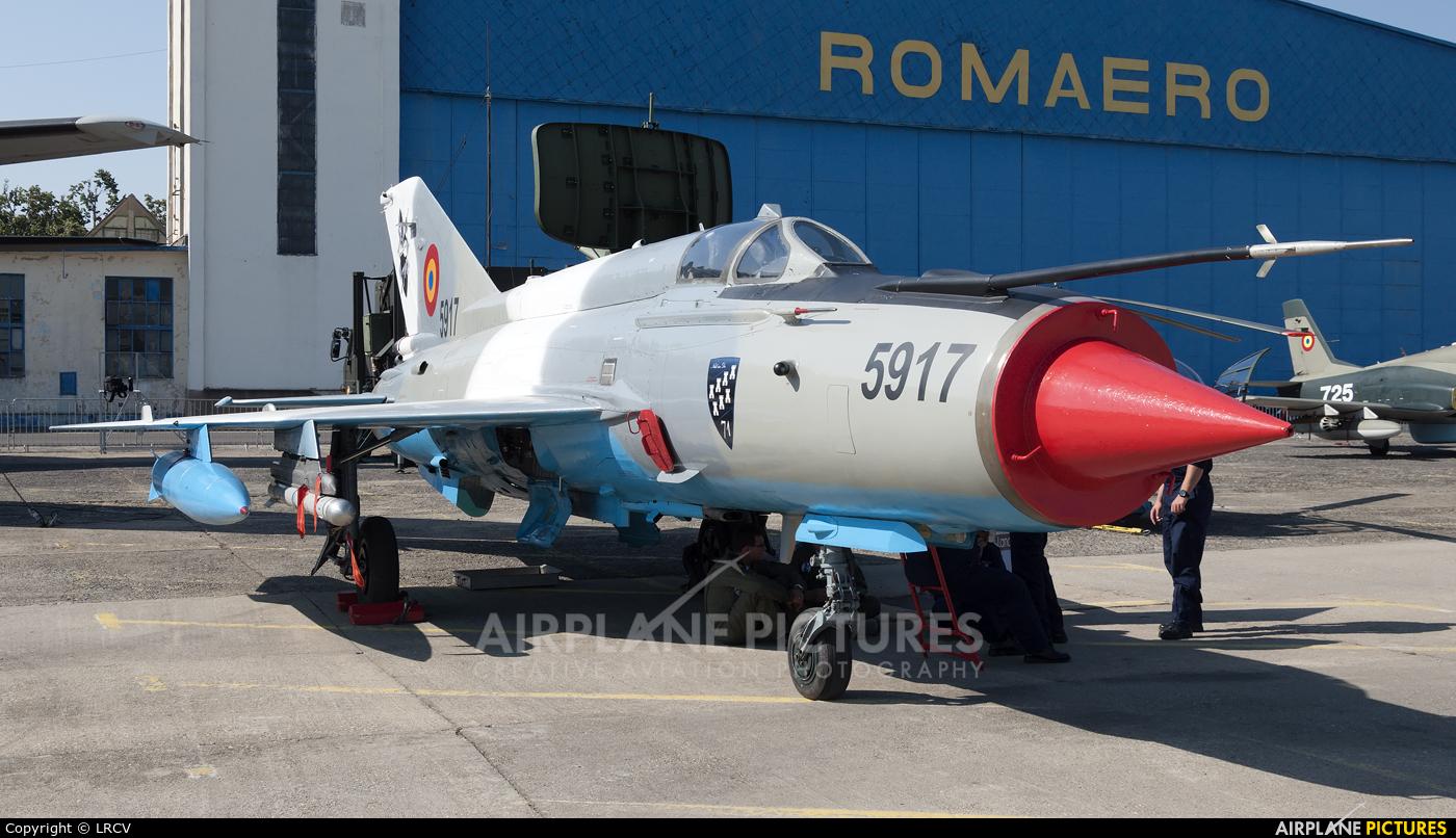 Romania - Air Force 5917 aircraft at Bucharest - Aurel Vlaicu Intl