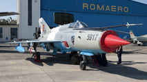 5917 - Romania - Air Force Mikoyan-Gurevich MiG-21 LanceR C aircraft
