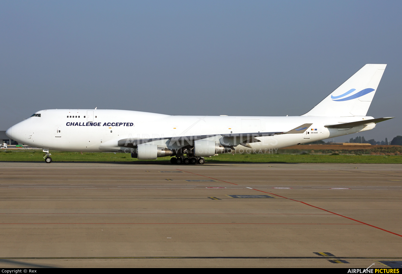 ACE Belgium Freighters OO-ACE aircraft at Liège-Bierset
