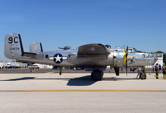 N3774 - Yankee Air Force North American B-25D Mitchell