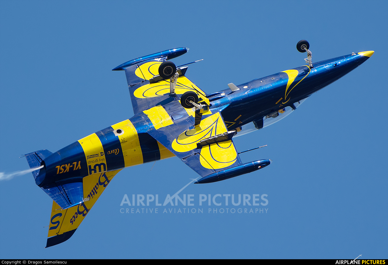 Baltic Bees Jet Team YL-KSL aircraft at Bucharest - Aurel Vlaicu Intl