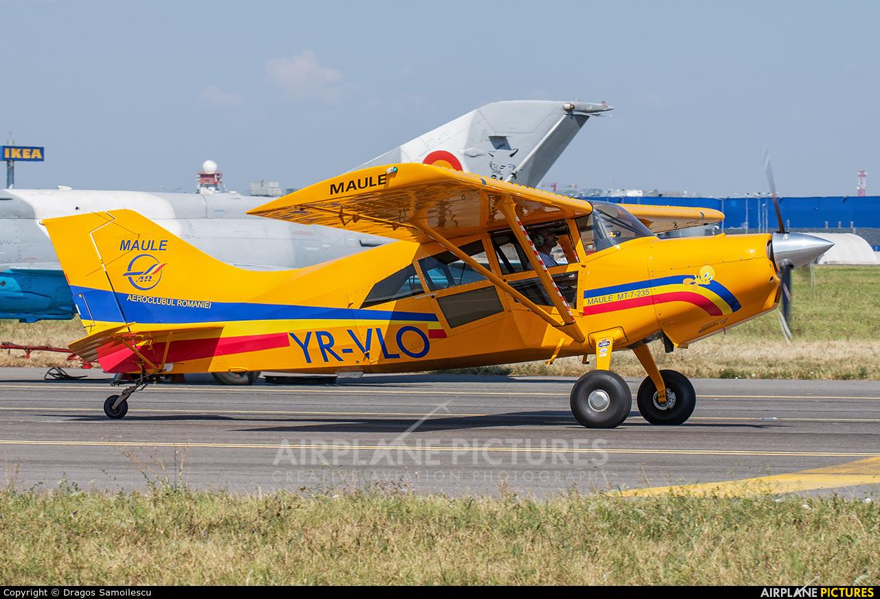 Romanian Airclub YR-VLO aircraft at Bucharest - Aurel Vlaicu Intl