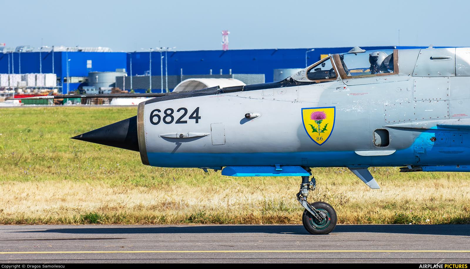 Romania - Air Force 6824 aircraft at Bucharest - Aurel Vlaicu Intl