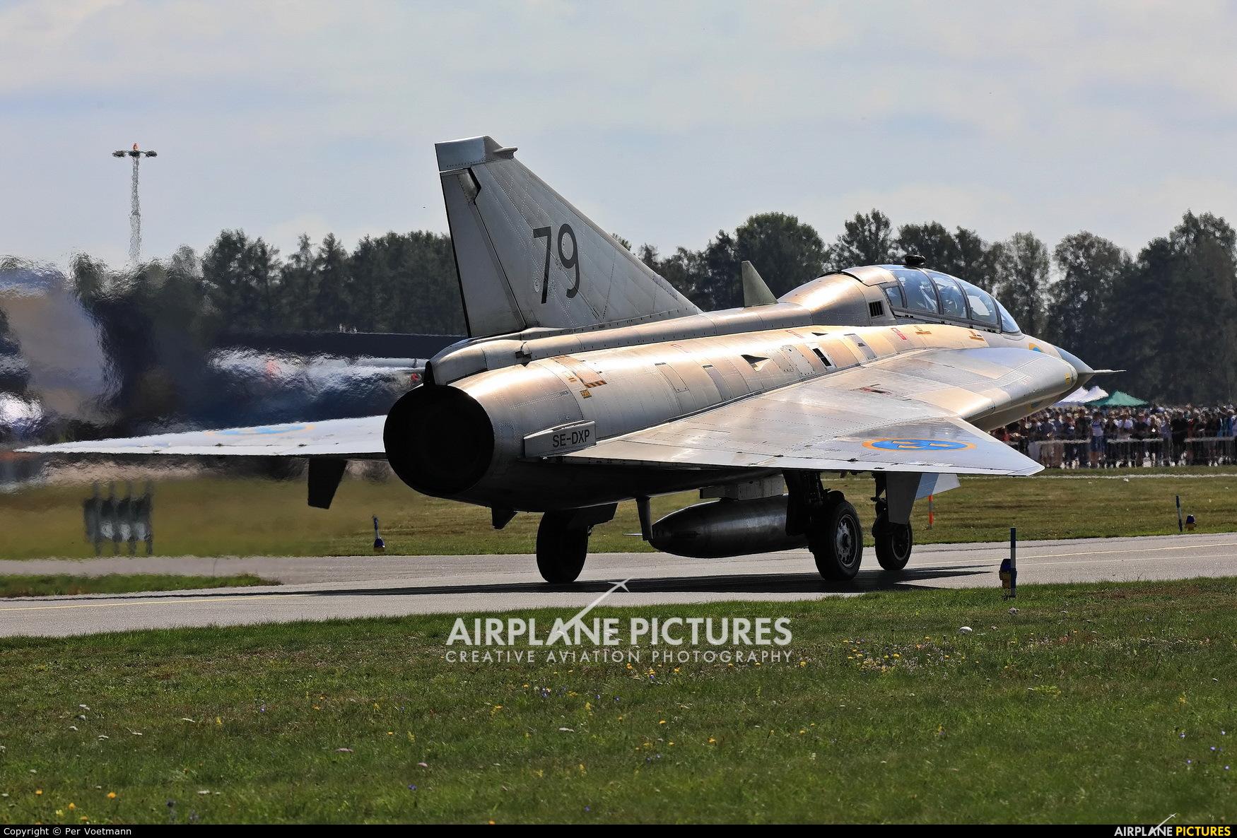 Swedish Air Force Historic Flight SE-DXP aircraft at Ronneby