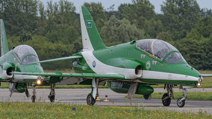 8821 - Saudi Arabia - Air Force: Saudi Hawks British Aerospace Hawk 65 / 65A