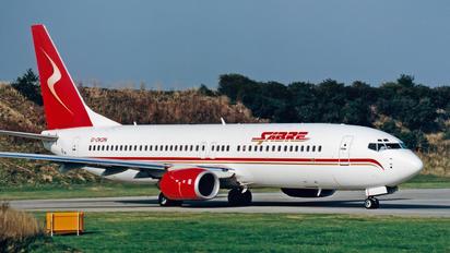 G-OKDN - Sabre Airlines Boeing 737-800