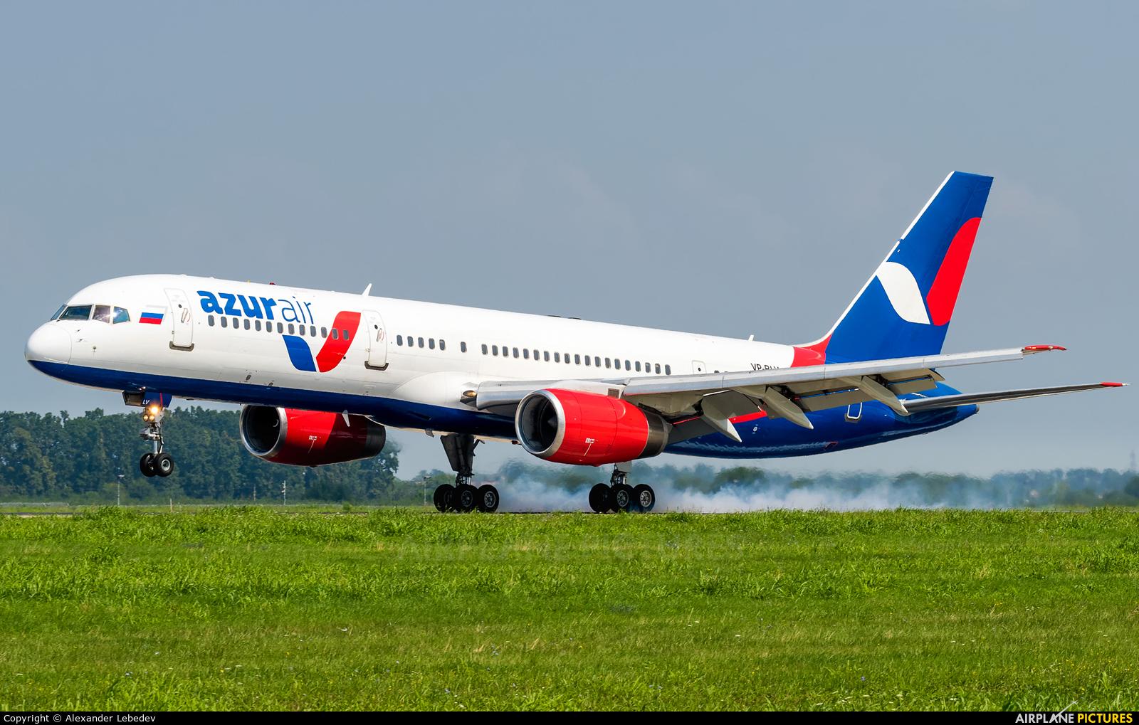 AzurAir VP-BLV aircraft at Krasnodar
