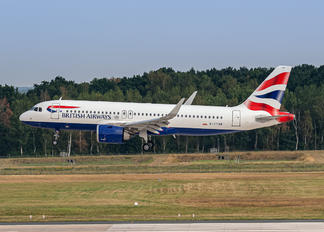 G-TTNB - British Airways Airbus A320 NEO