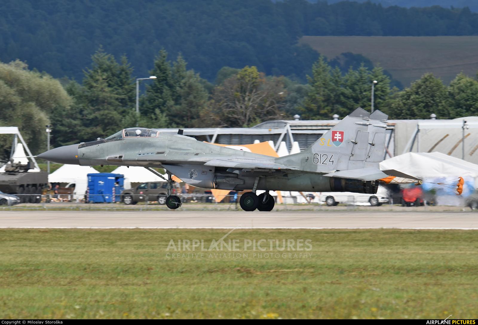 Slovakia -  Air Force 6124 aircraft at Sliač