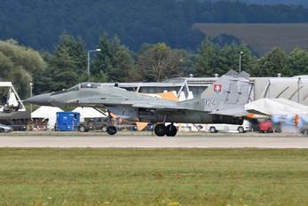 6124 - Slovakia -  Air Force Mikoyan-Gurevich MiG-29AS