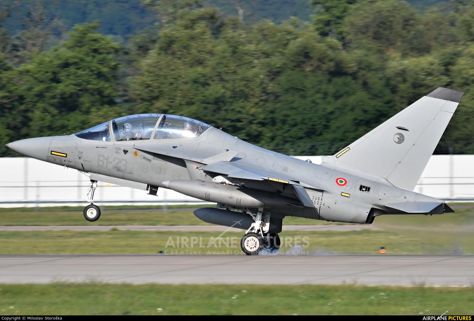 Italy - Air Force MM55224 aircraft at Sliač