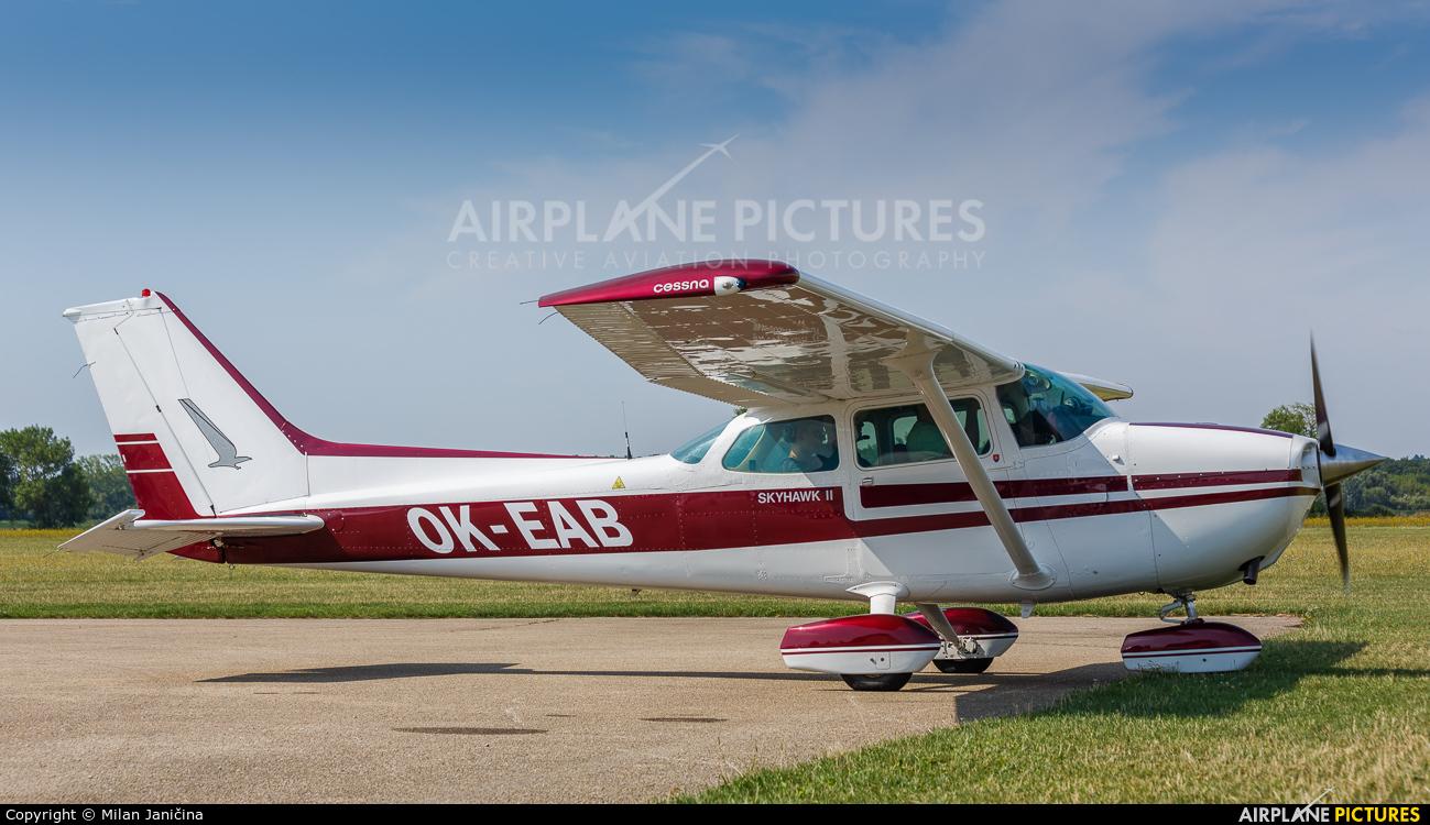 Private OK-EAB aircraft at Nitra